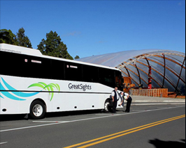 Getting to Waitomo by Tour Coach