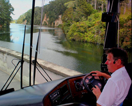 Getting to Waitomo by Bus