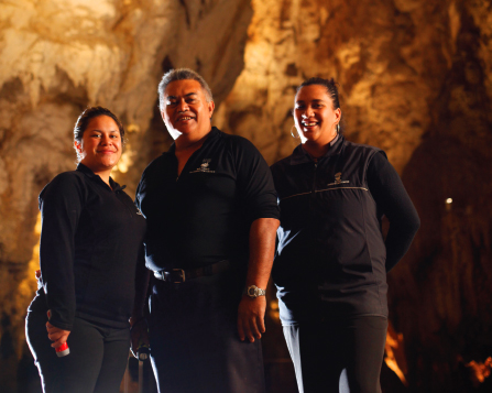 Waitomo Caves Histor