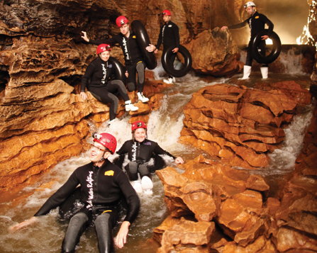 Waitomo Caving and Rafting